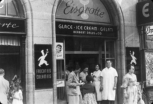 Eisgrotte 1952