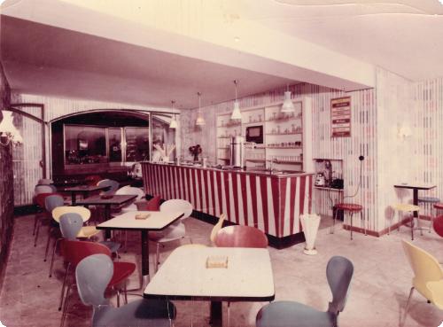 Die Eisgrotte 1958